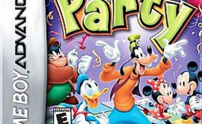 Disney Party Nintendo Game Boy Advance