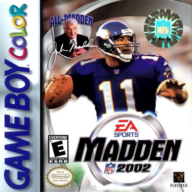 Madden NFL 2002 Game Boy Color