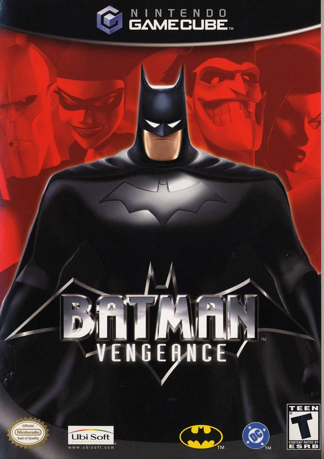 Batman Vengeance Gamecube Game
