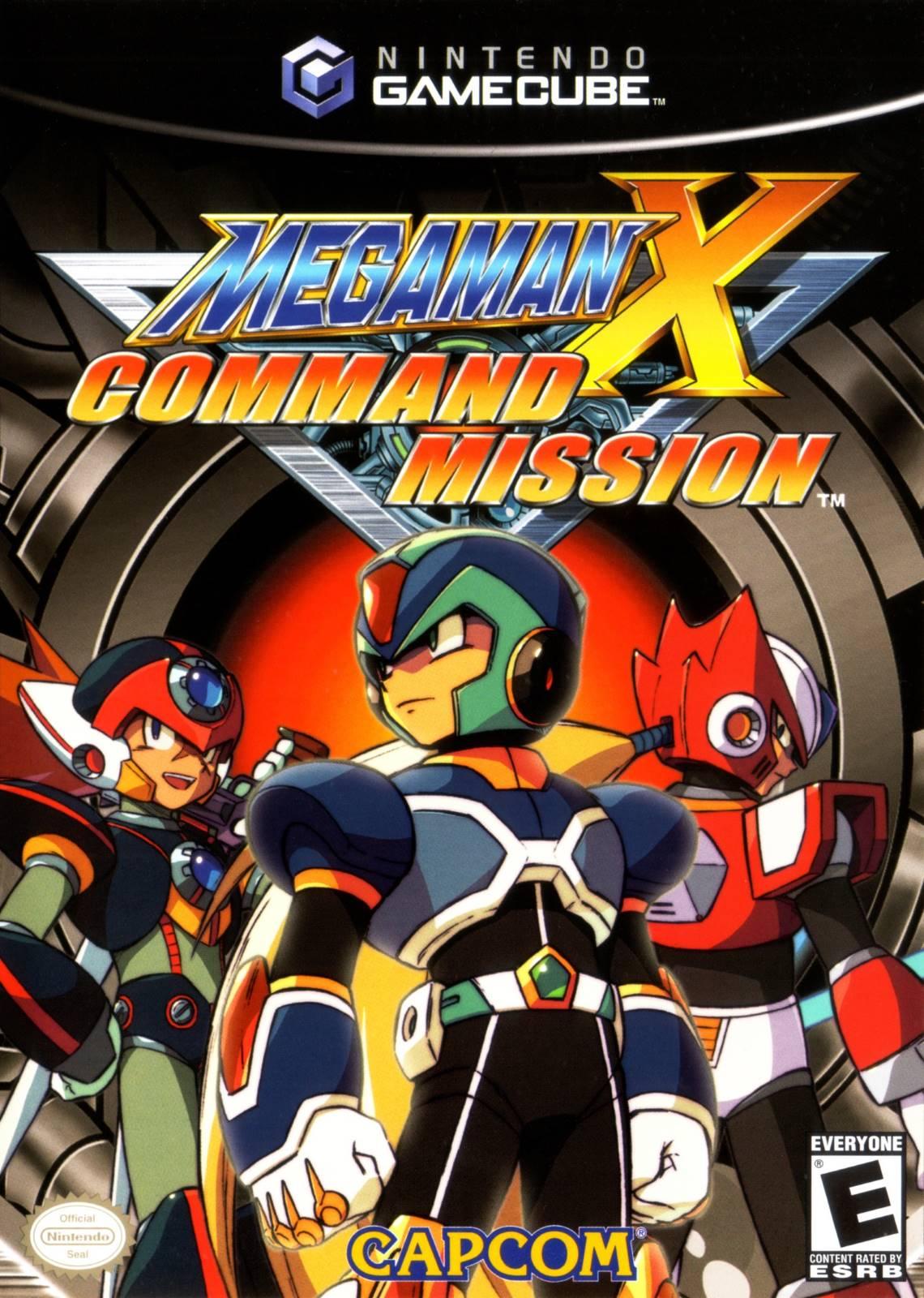 Mega Man X Command Mission Gamecube Game