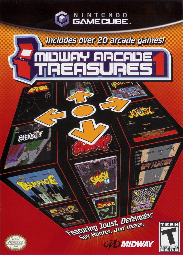 Midway Arcade Treasures 1 Gamecube Game