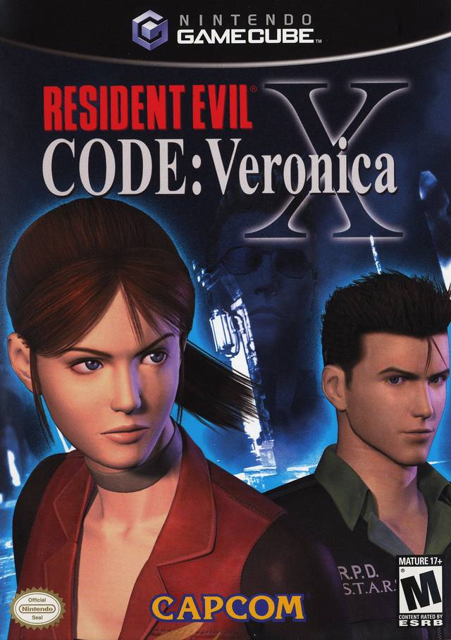 Resident Evil Code Veronica X Gamecube Game