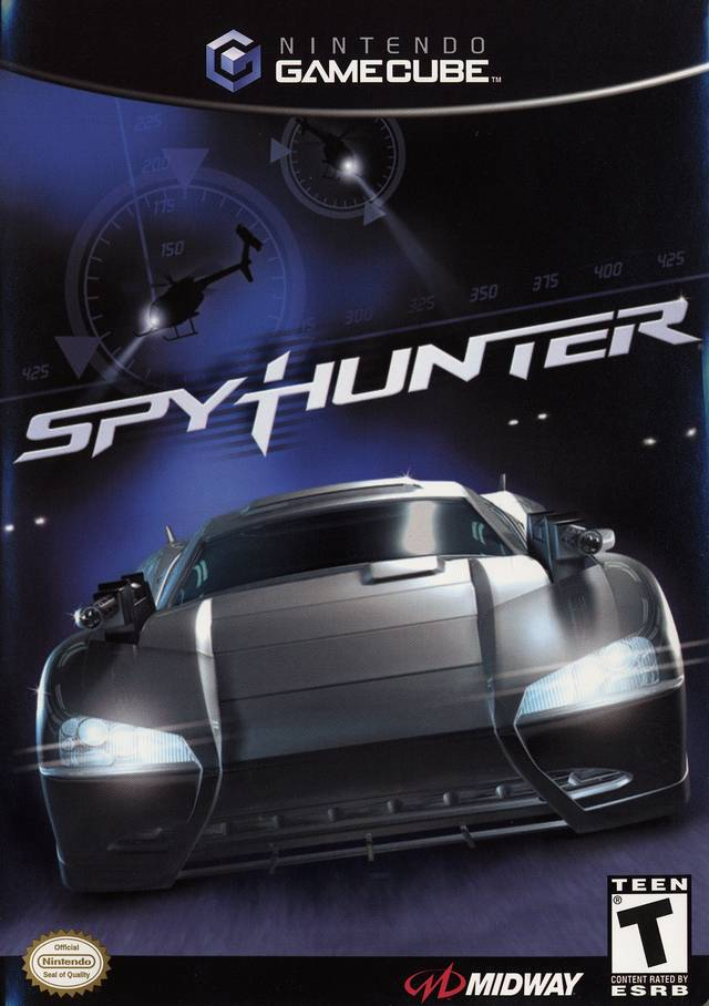 Spy Hunter Gamecube Game