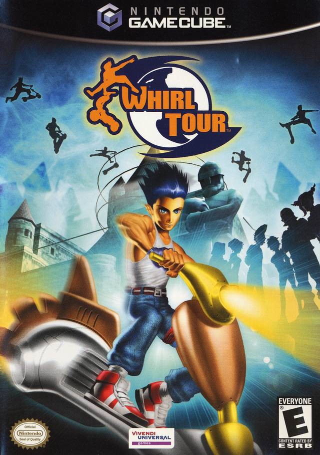 Whirl Tour Scooters Gamecube Game
