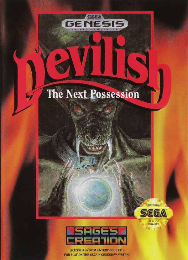 Devilish Sega Genesis