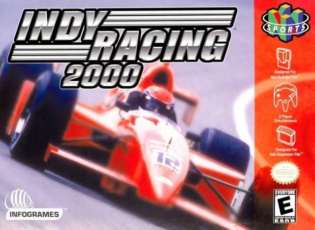 Indy Racing League 2000 Nintendo 64 Game