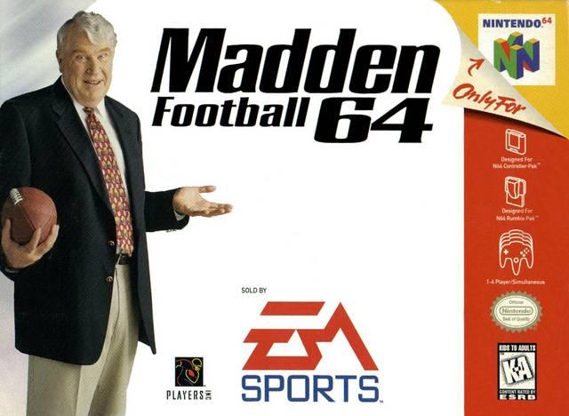 Madden 64 Nintendo 64 Game