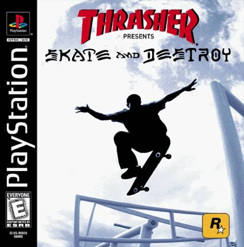 Thrasher Skate And Destroy Sony Playstation