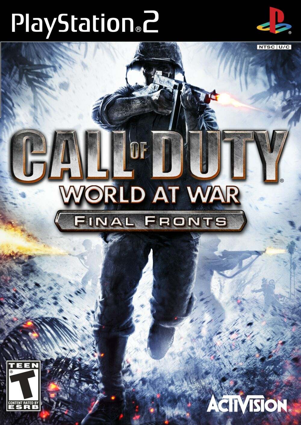 Call of Duty World at War Final Fronts Sony Playstation 2 Game