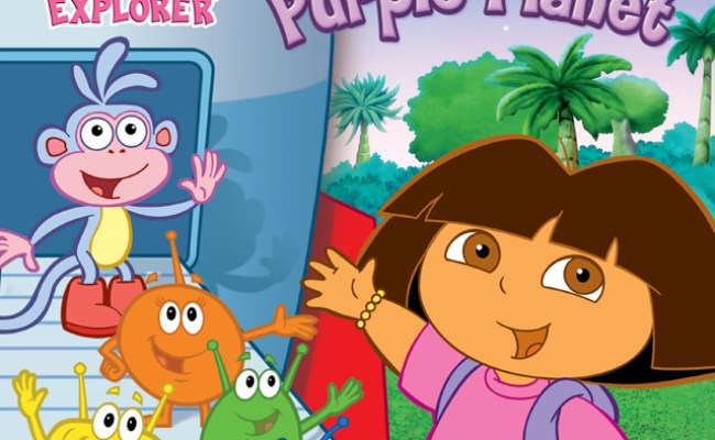 Dora The Explorer Journey To The Purple Planet Sony