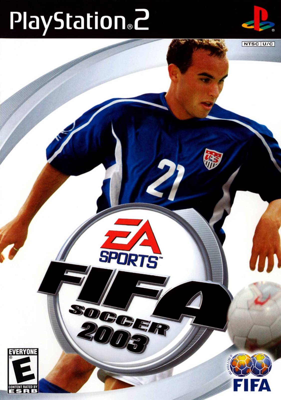 FIFA 2003 Sony Playstation 2 Game