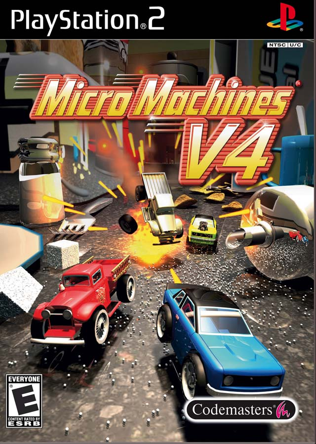Micro Machines V4 Sony Playstation 2 Game