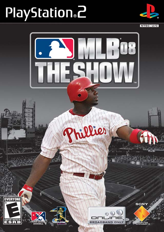 MLB 08 The Show Sony Playstation 2 Game
