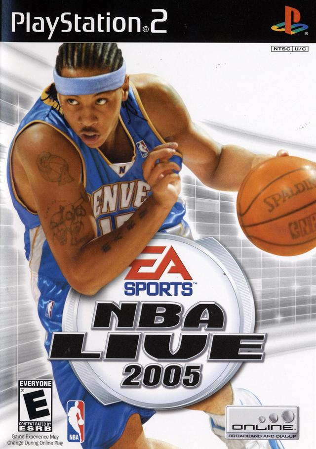 NBA Live 2005 Sony Playstation 2 Game