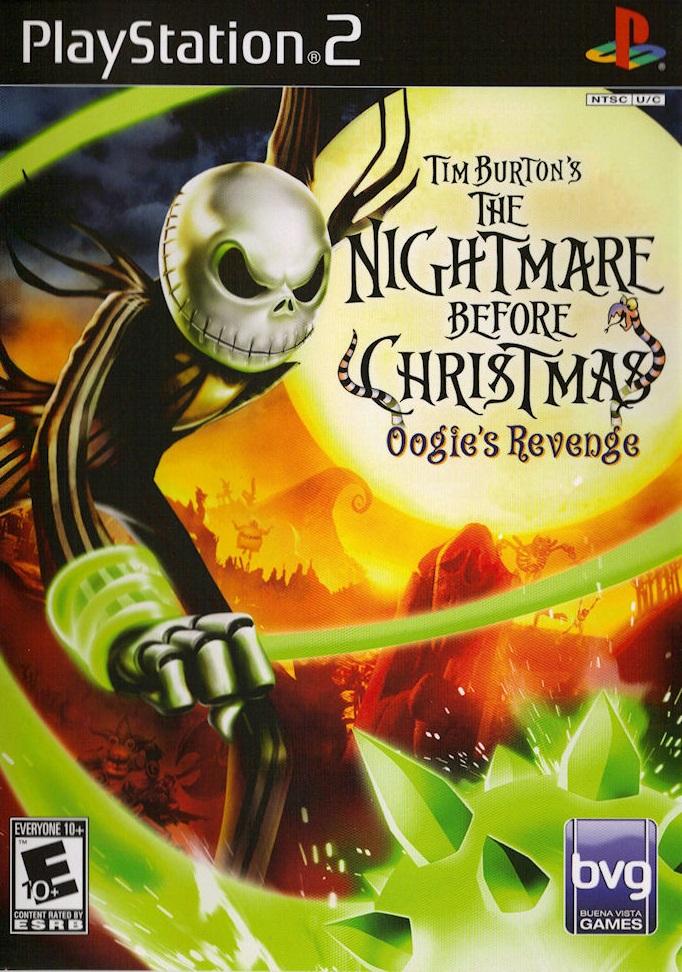 Nightmare Before Christmas Oogies Revenge Sony Playstation