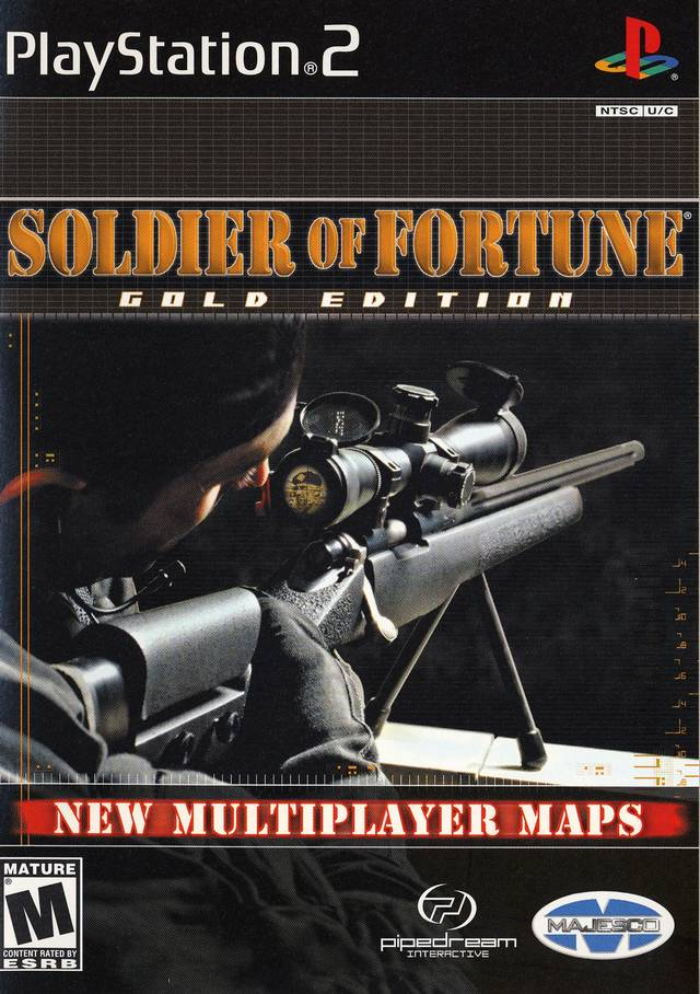 Soldier Of Fortune Sony Playstation 2 Game