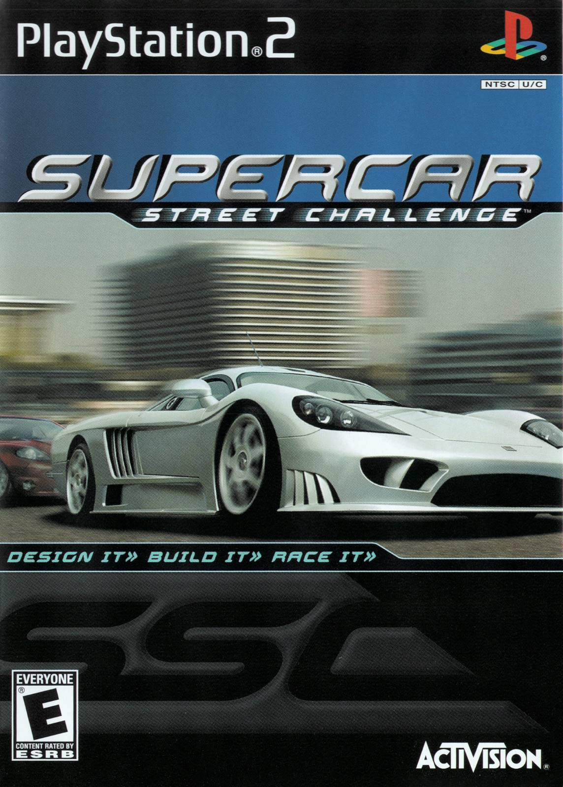 Supercar Street Challenge Sony Playstation 2 Game