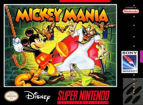 Mickey Mania SNES Super Nintendo