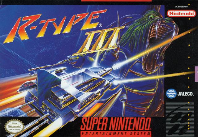 R Type 3 SNES Super Nintendo
