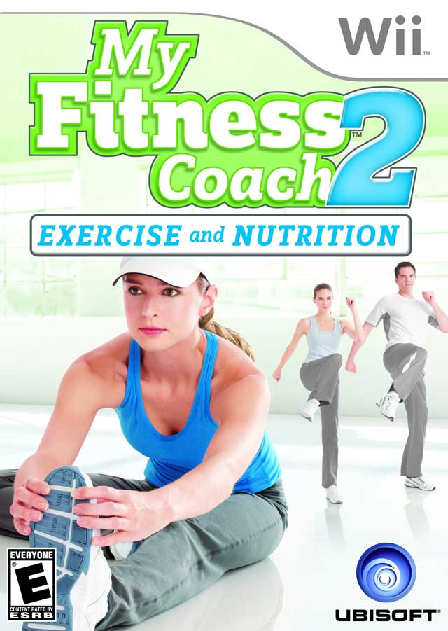 My Fitness Coach 2 Exercise and Nutrition Nintendo WII Game