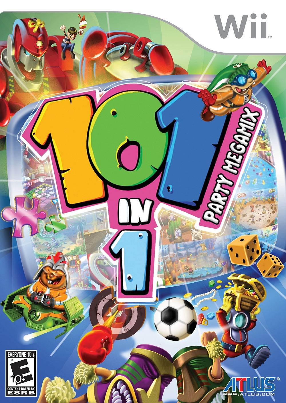 101 In 1 Party Megamix Nintendo WII Game