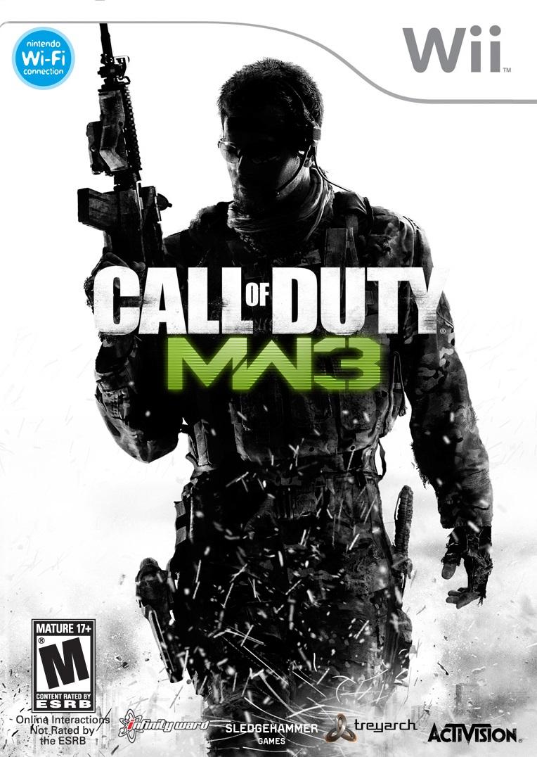 Call Of Duty Modern Warfare 3 Nintendo Wii Game