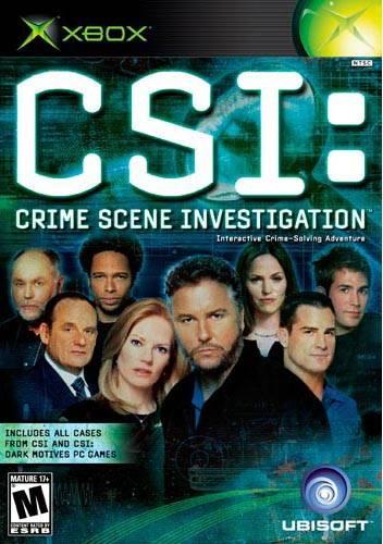 CSI Crime Scene Investigation Xbox