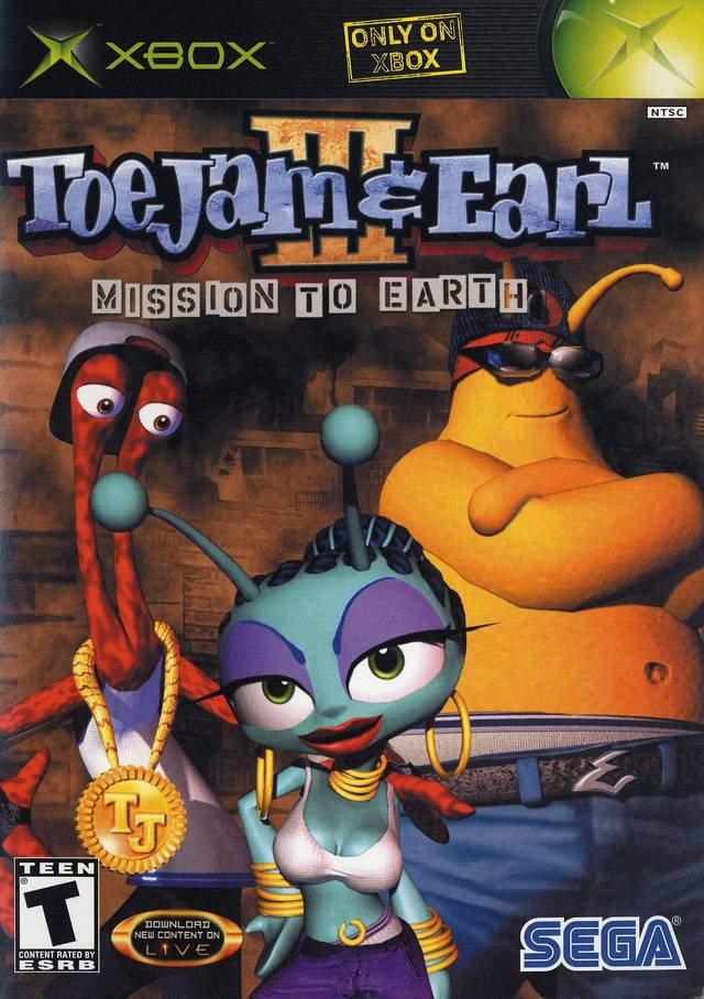 ToeJam And Earl 3 Xbox
