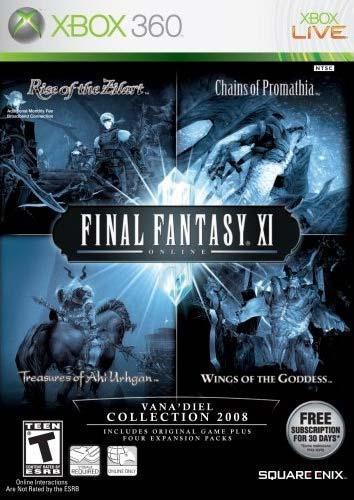 Final Fantasy XI Vanadiel Collection 2008 Xbox 360 Game