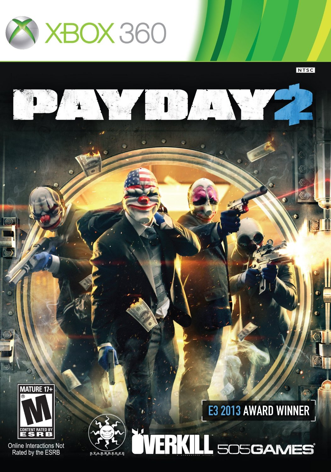 Payday 2 Xbox 360 Game