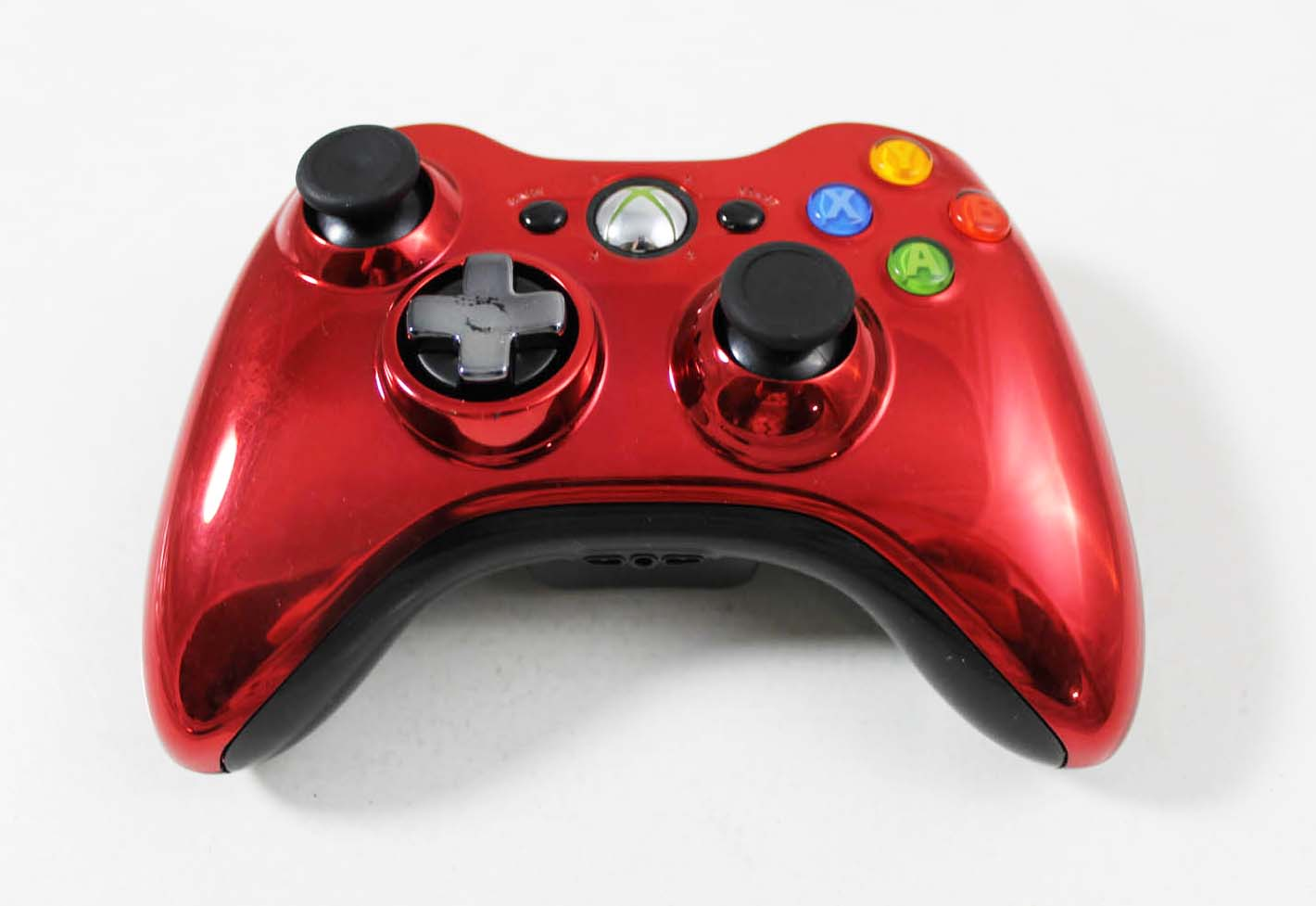 Xbox 360 Red Chrome Limited Edition Controller