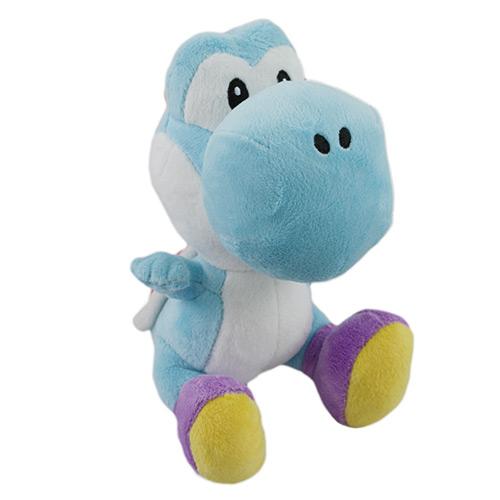 Blue Plush Yoshi Doll Toy