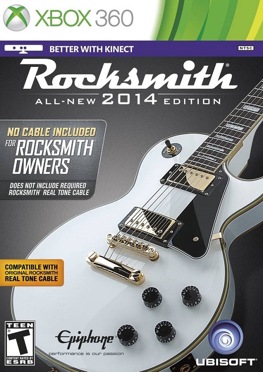 Rocksmith 2014 Xbox 360 Game