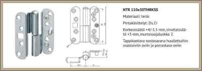 ABLOY NTR 110x30 TMRKSS UPOTUSKUVA