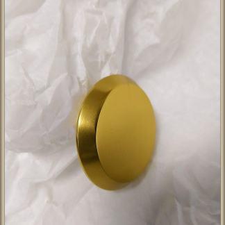 HOPPE umpikilpi pyöreä alumiini kulta