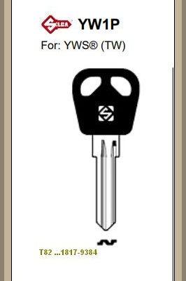 ABUS ja YWS lukkoihin avain koodilla