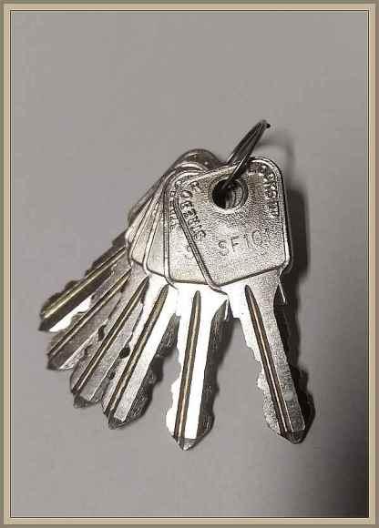 Strebor SF101 alkuperäinen avain