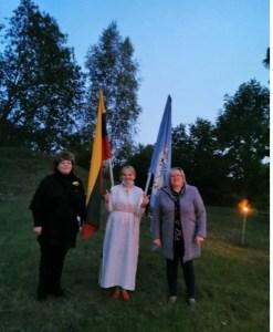 12-asis Baltų dienos minėjimas ant Stirniškių piliakalnio