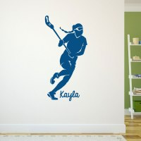 Lacrosse Removable ChalkTalkGraphix Wall Decal ...