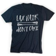 girls lacrosse t-shirt short sleeve