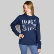 girls lacrosse long sleeve t-shirt