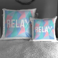 Girls Lacrosse Throw Pillow Relax | LuLaLax