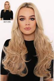 """double thick 20"""" 2 piece curly"""