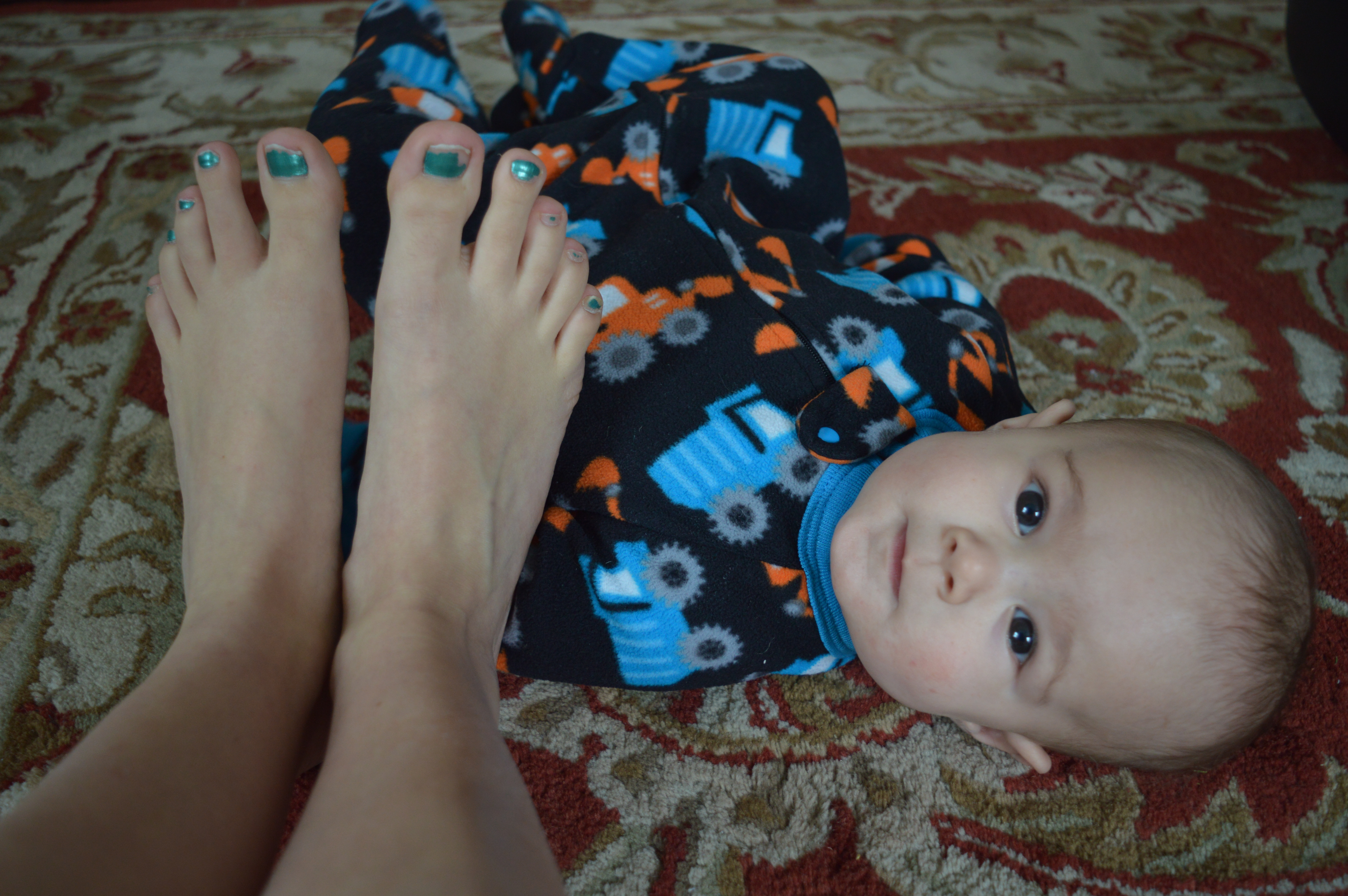 A Day in the Life of a Stay at Home Mom