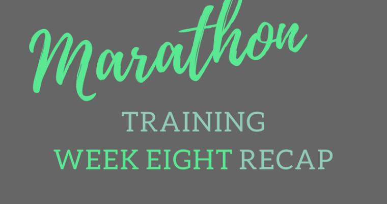 A Few Tangents + Marathon Training week #8