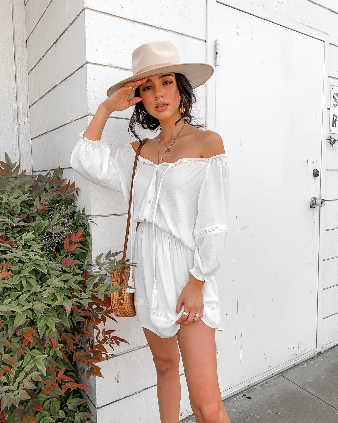 white dress outfits ideas