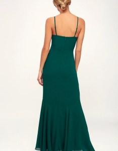 We belong together emerald green maxi dress also stunning rh lulus