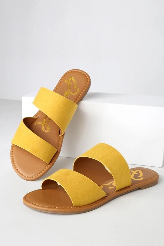 yellow slides