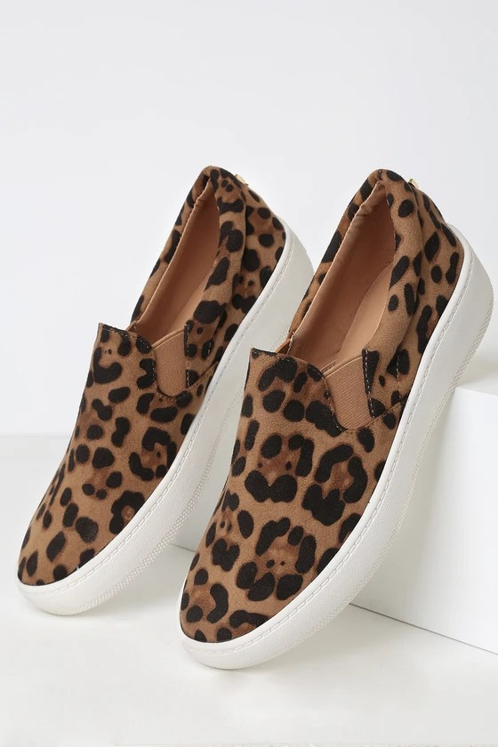 LULUS – SLIP ON LÉOPARD VEGAN