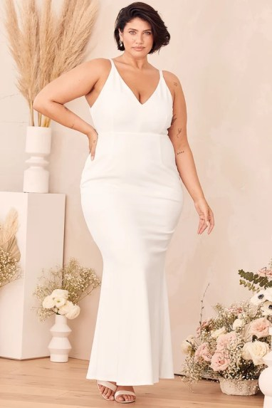 Melora White Sleeveless Maxi Dress